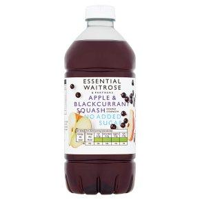 essential Waitrose Apple & Blackcurrant No Added Sugar