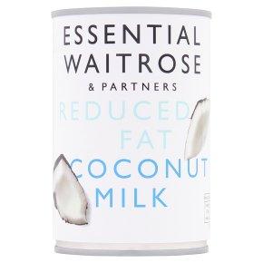 essential Waitrose reduced fat coconut milk
