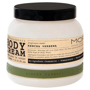 MOR Body Cream Sencha Verbena