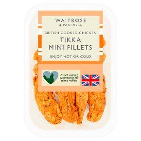 Waitrose British roast chicken tikka mini fillets