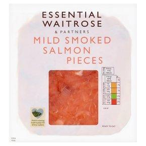 Waitrose Mild Scottish Smoked Salmon Pieces