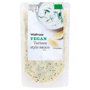Waitrose Vegan Tartare Style Sauce