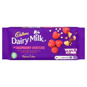 Cadbury Dairy Milk The Raspberry Shortcake