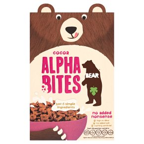 BEAR Cocoa Cereal Alpha Bites