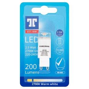 GE LED 2.5W G9