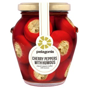 Pelagonia Cherry Peppers with Humous