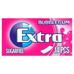 Wrigley's Extra bubblegum flavour