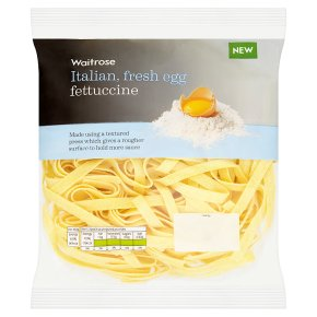 Waitrose Fresh Egg Fettuccine