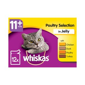 Whiskas 11+ Poultry Selection in Jelly