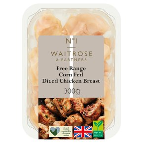 Waitrose 1 Free Range Chicken Breast Chunks
