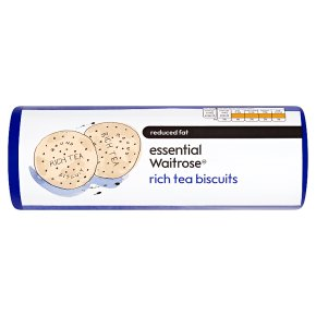 essential Waitrose rich tea biscuits reduced fat