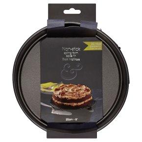 from Waitrose 20cm (8) non-stick loose base spring form cake tin