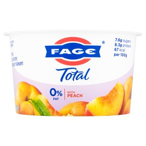FAGE Total 0% Fat Free Yoghurt with Peach