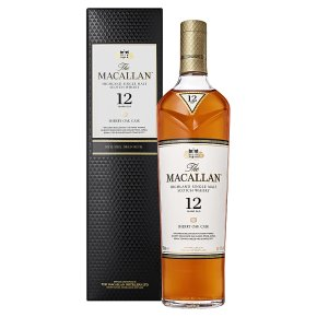 Macallan 12 Year Old Sherry Oak Scotch Whisky