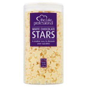 Cake Professional White Chocolate Star