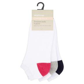 Waitrose CR Trainer Socks Terry Ped