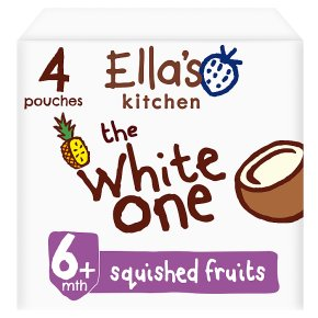 Ella's kithen the white one squished smoothie fruits