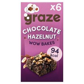 Graze Wow Bakes Chocolate Hazlenut