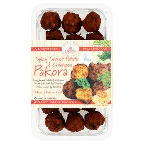 Mr Freeds Spicy Sweet Potato & Chickpea Pakora