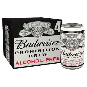 Budweiser Prohibition Alcohol Free USA