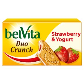 Belvita Breakfast Biscuits Duo Crunch Strawberry and Yogurt