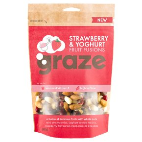 Graze Strawberry & Yoghurt Fruit Fusions