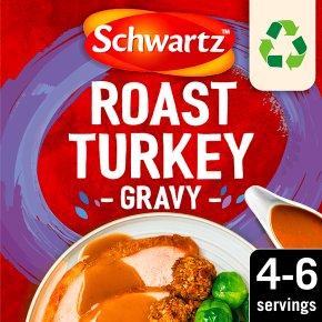 Schwartz roast turkey gravy mix