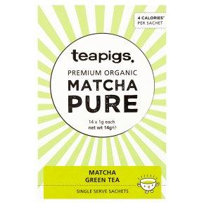 Teapigs Matcha Single Serve Sachets