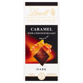 Lindt Excellence Dark Caramel with a Touch of Sea Salt