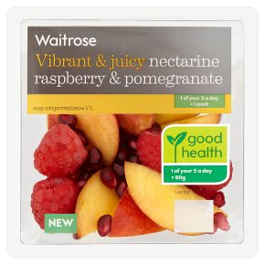 Waitrose Nectarine, Raspberry & Pomegranate
