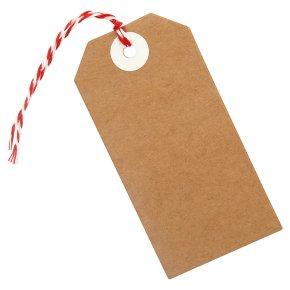 Waitrose Kraft gift tags
