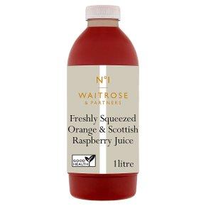 No.1 Orange & Scottish Raspberry Juice
