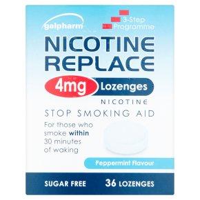 Nicotine Replace 4mg Lozenges