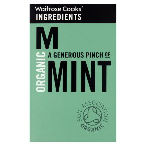 Waitrose Cooks' Ingredients organic mint