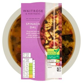 Waitrose Indian spinach dal