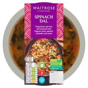 Waitrose spinach dal