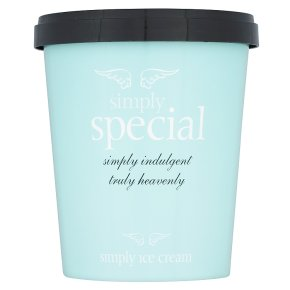 Simply special ice cream