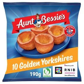 Aunt Bessie's 12 golden Yorkshires