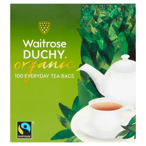 Waitrose Duchy Organic everyday tea bags, 100 bags