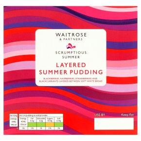 Waitrose Layered Summer Fruit Pudding