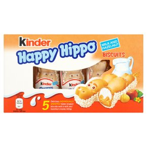 Kinder Happy Hippo 5 Biscuits
