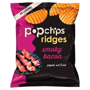 Popchips Ridges Smoky Bacon