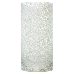 Waitrose Silver Mercury Cylinder Vase