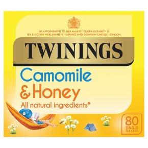 Twinings Camomile & Honey 80 Teabags