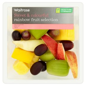 Waitrose Rainbow Fruit Selection