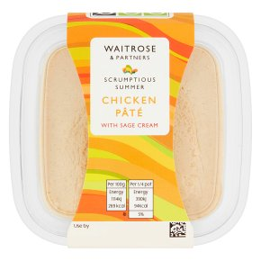 Waitrose Chicken Pâté with Sage Cream