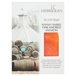 Hebridean Scottish Whisky Barrel Oak Smoked Salmon