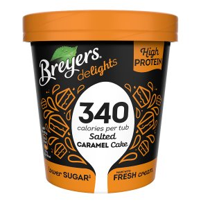 Breyers Salted Caramel Cake Ice Cream