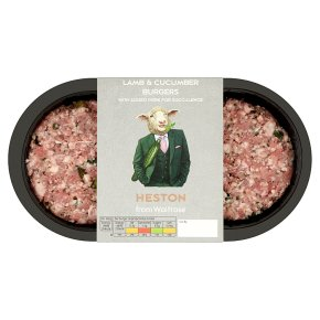 Heston from Waitrose 2 Lamb & Cucumber Burgers