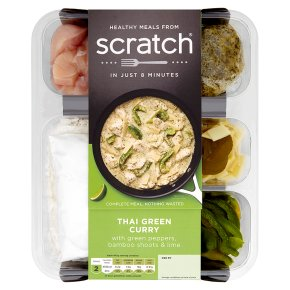 Scratch chicken Thai green curry